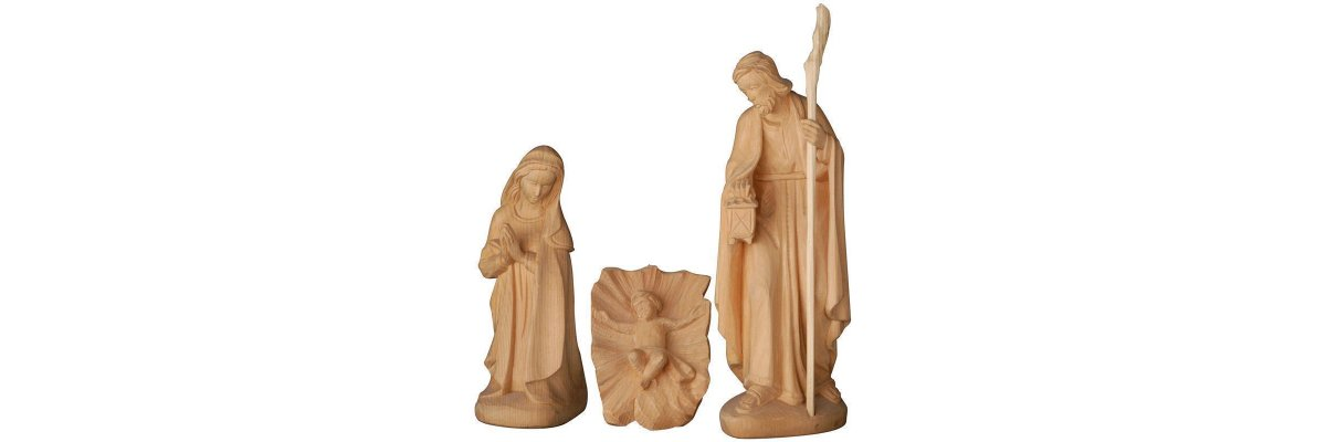 Tyrolean Nativity scene (pine)