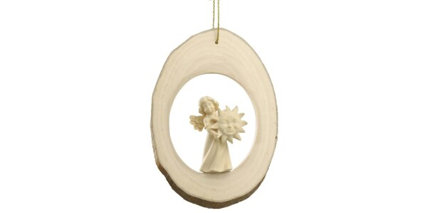 Branch disc with Mary Angel