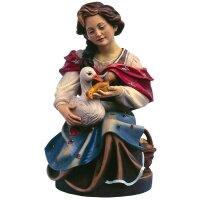 Donna con oca (inginocchiata)