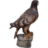 Adler aufrecht