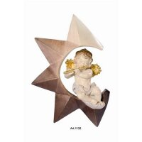 Angel on star with flute