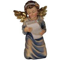 Genuflected angel singing