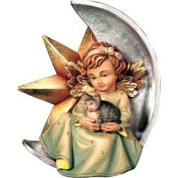 Angel with star and cat