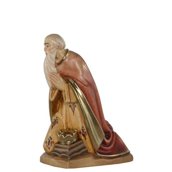Wise man kneeling tirolean crib