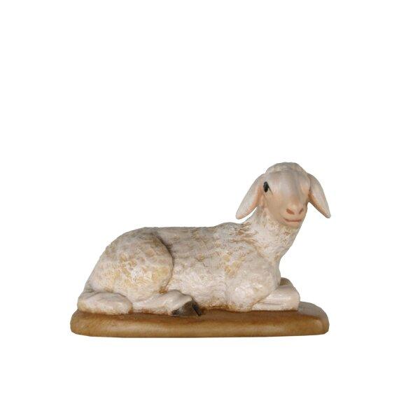 Sheep lying baroque crib