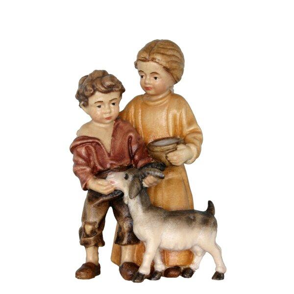Bambini con capretta p.barocco s.b.
