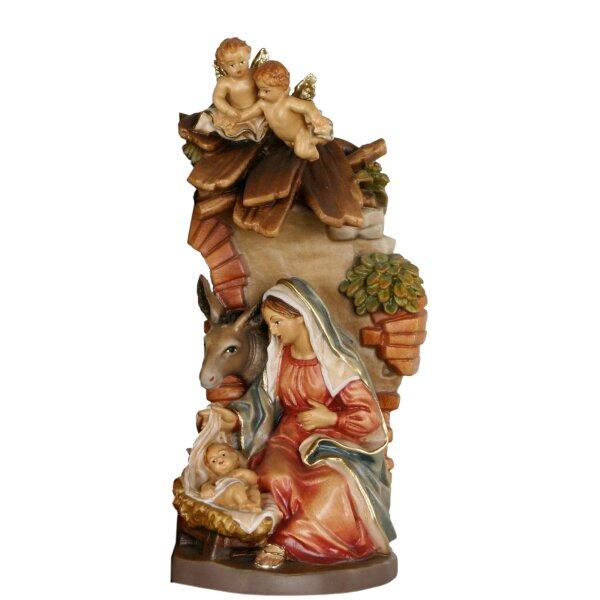 Maria, Jesu und Esel