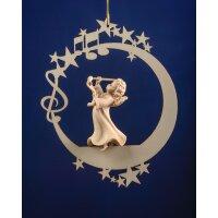 Angel with baton on the moon &.stars