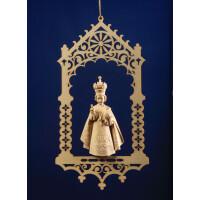 Infant Jesus of Prague in niche