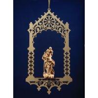 St.Christopher in niche