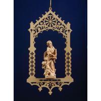 St.Cecily in niche