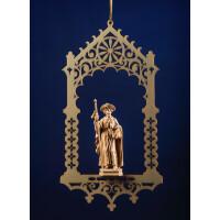 St.James pilgrim in niche