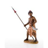 Soldat mit Schwert und Lanze