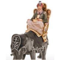 Koenig reit.(Balthasar) ohne Elefant