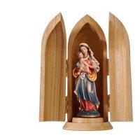 Madonna of Peace in niche