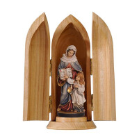 St. Anne in niche
