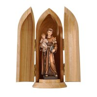 St. Anthony with Child in niche