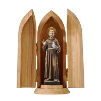 St. Francis in niche