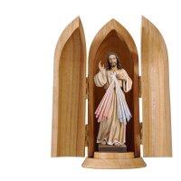 Divine Mercy in niche