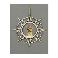 Stern Herzchen-Glockenengel Kerzenschale