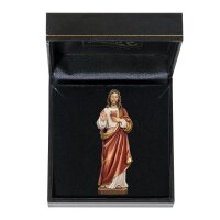 Sacred Heart of Jesus with case