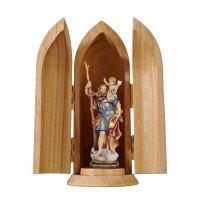 St. Christopher in niche