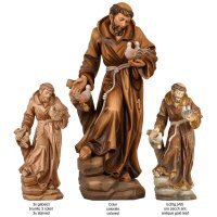 St. Francis - colored - 5,5 inch