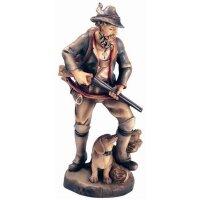 Hunter - color carved - 23½ inch
