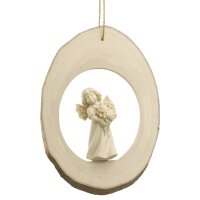 Branch disc with Mary Angel Roses