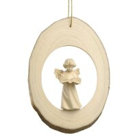 Branch disc with Mary Angel book