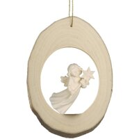 Branch disc with Mary Angel flying