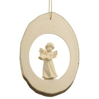 Branch disc with Mary Angel bells