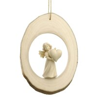 Branch disc with Mary Angel heart