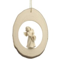 Branch disc with Mary Angel lantern