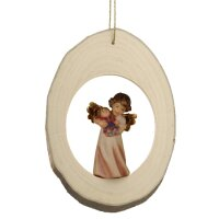 Branch disc with Mary Angel Doll