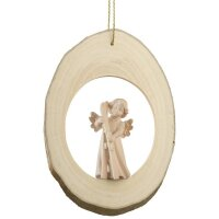 Branch disc with Mary Angel Ski