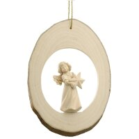 Branch disc with Mary Angel and star