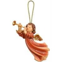 Welcome-Angel with trumpet
