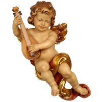 Angel Haydn with lute