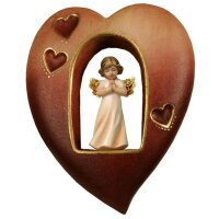 Heart with Guardian angel
