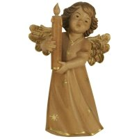 Mary angel with candle