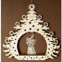 Christmas Tree with angel snow flake