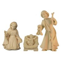 Holy Family - mini - natural wood - 1,57 inch