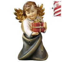 Heart Angel with present + Gift box