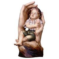 Mani protettrici bambino