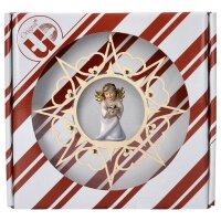 Herzengel mit Herz - Herz Stern Crystal + Geschenkbox