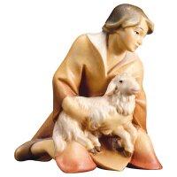 RE Pastore inginocchiato con agnello