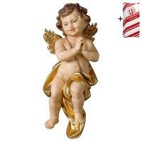 Cherub praying + Gift box