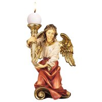 Chorus angel with candle left side