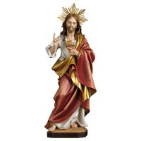 Sacred Heart of Jesus with Halo